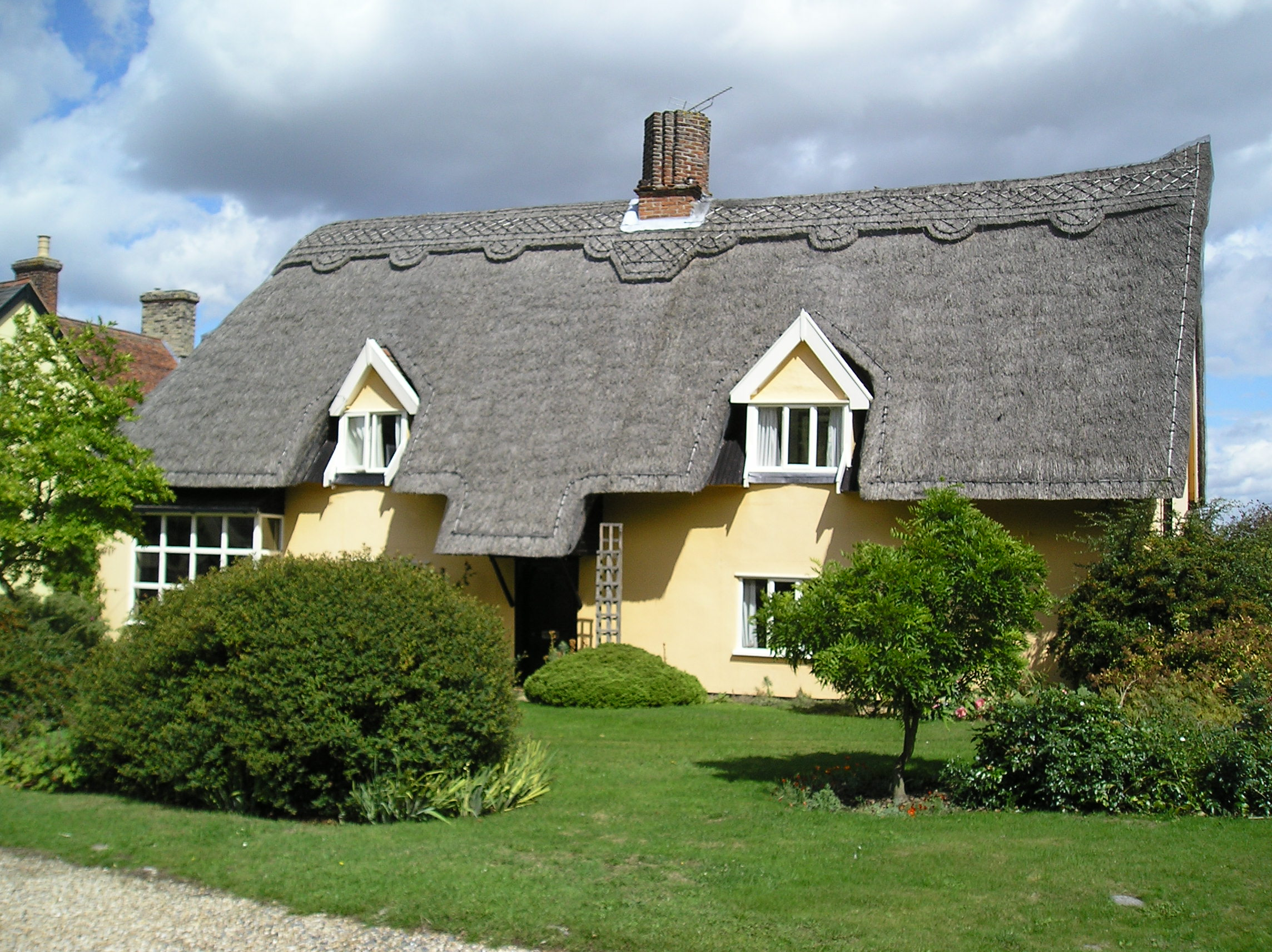There was a crooked man - The thatched cottage ...