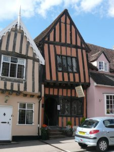 Lavenham - the Crooked House