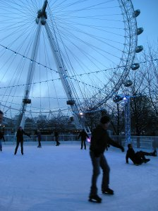 london eye ice rink
