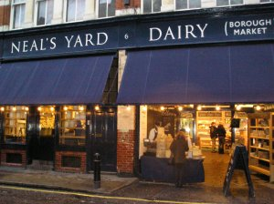 neals yard dairy borough market southwark london