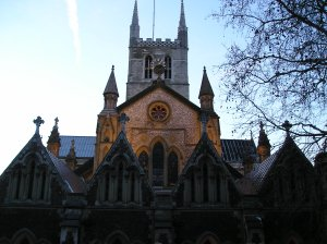 southwark cathedral and geoffrey chaucer