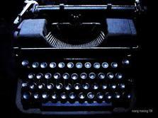 typewriters circa 1972