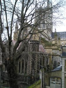 southwark cathedral priory winchester palace