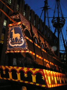 the golden hinde southwark drakes galleon