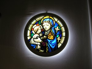 madonna and child saint george the martyr stained glass windows 3days in london