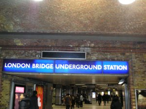 london bridge underground station