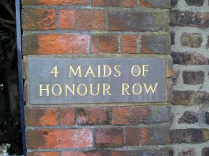 4 maids of honour row richmond palace