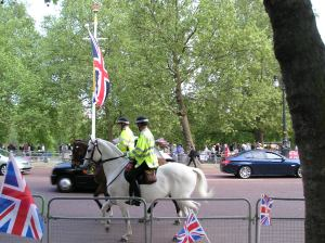 royal wedding, metropolitan mounted police