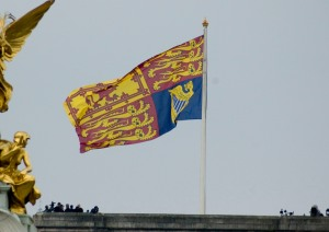 royal wedding william and catherine royal standard