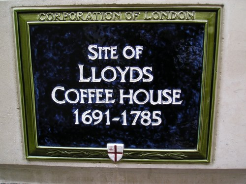 Site of Lloyd's Coffee House