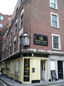 charles dickens, the centre page, historical pubs in london