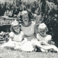 Me, my Mother and my little sister Sue