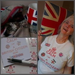 Keep Calm, I am now a British Citizen