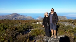 a trip up Table Mountain South Africa