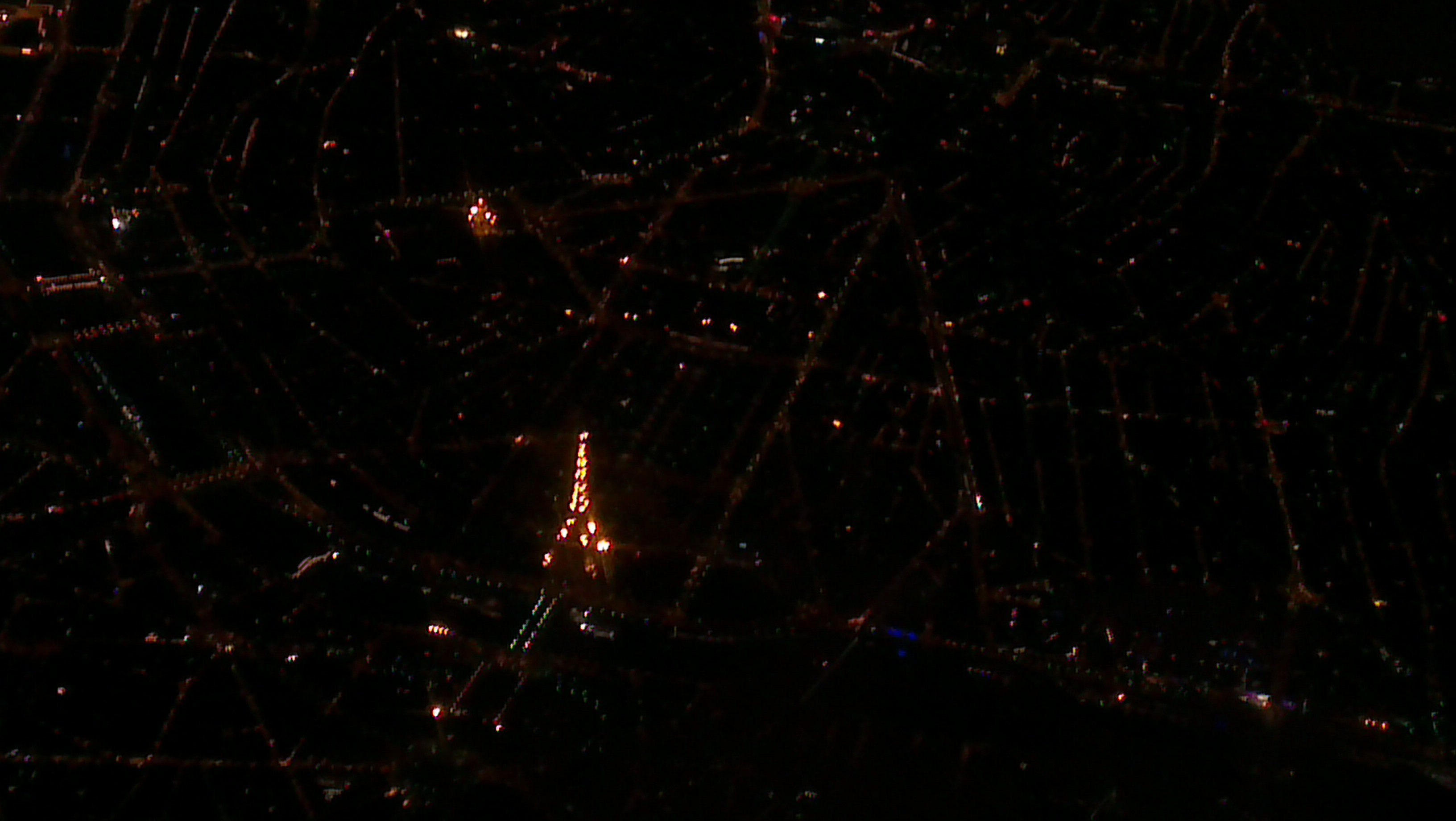 Paris by night - the Eiffel Tower