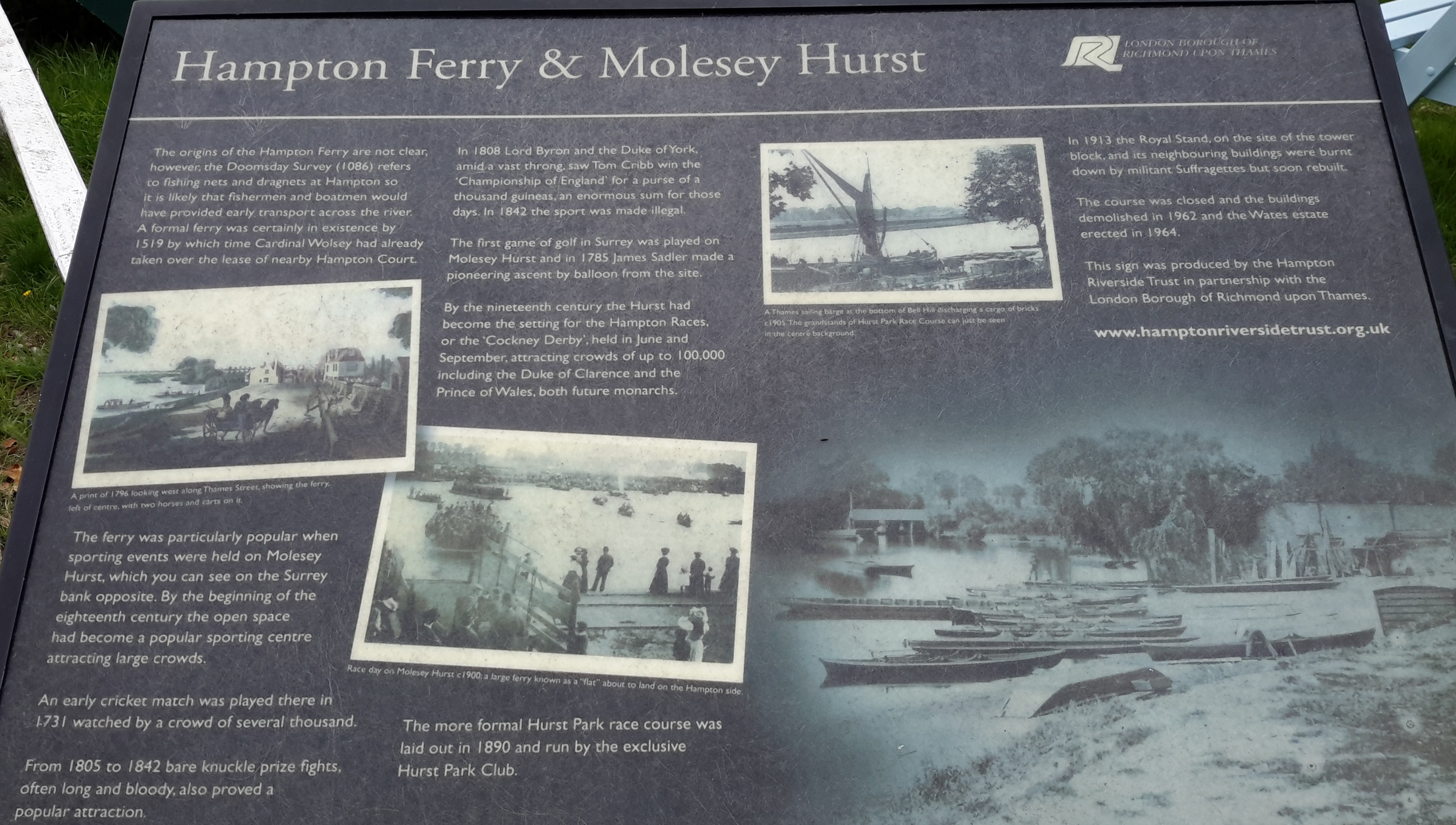 Hampton Ferry & Molesey Hurst