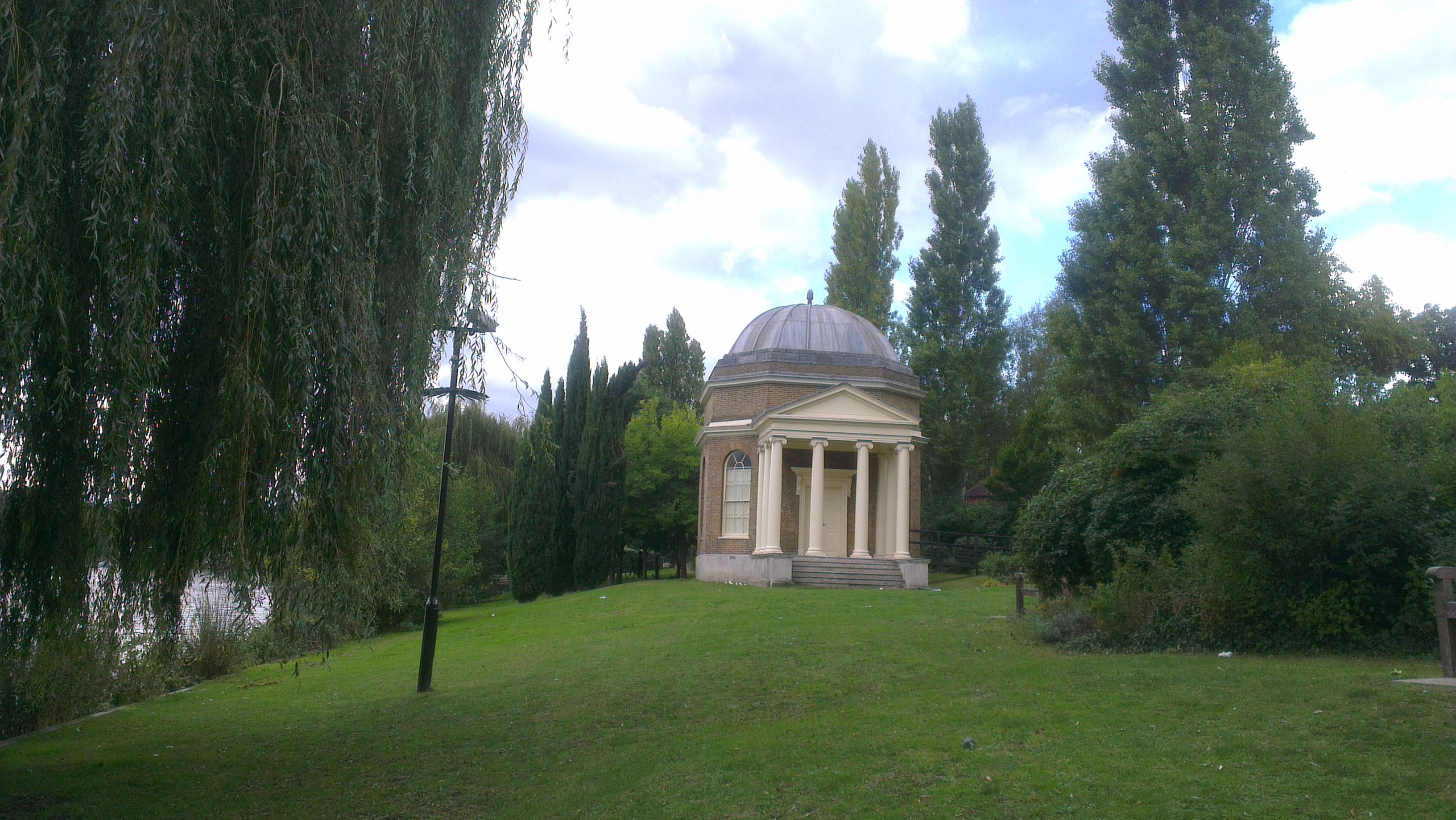 Garrick's Temple to Shakespeare in Hampton
