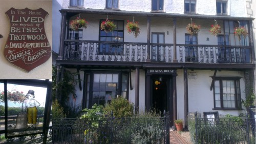 Dickens House Museum, Broadstairs. david copperfield charles dickens