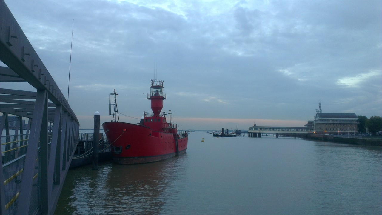 Gravesend and the River Thames
