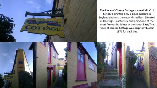 hastings, the piece of cheese cottage, 1066 country