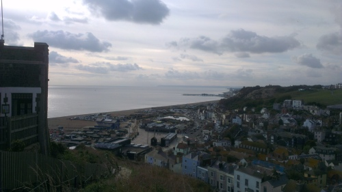 1066 country, hastings, seaside towns of britain, view from east cliff