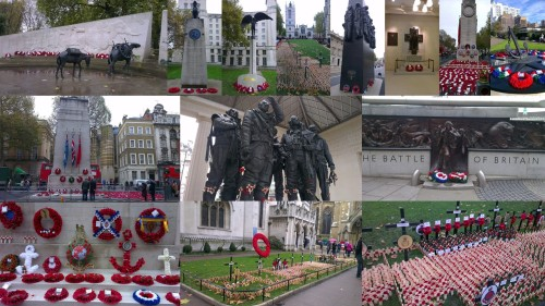 remembrance sunday, remember, armistice day, war memorials in london