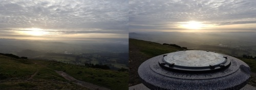 Great Malvern - climbing Worcestershire Beacon