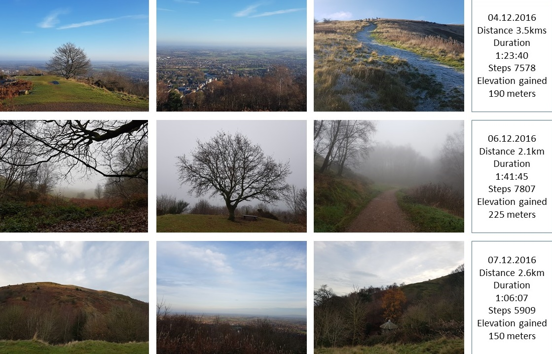 Great Malvern - climbing worcestershire beacon