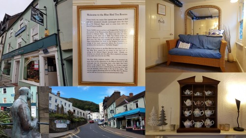 the blue bird tearoom and edward elgar