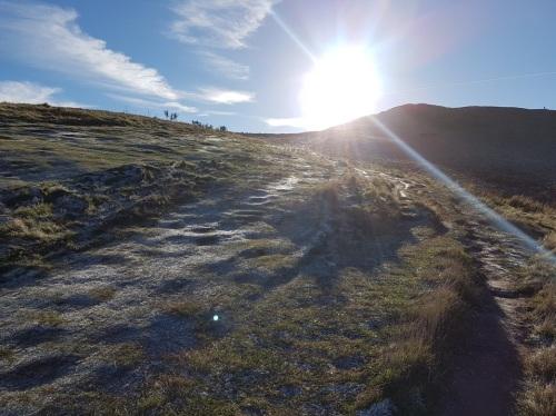 climbing the malvern hills