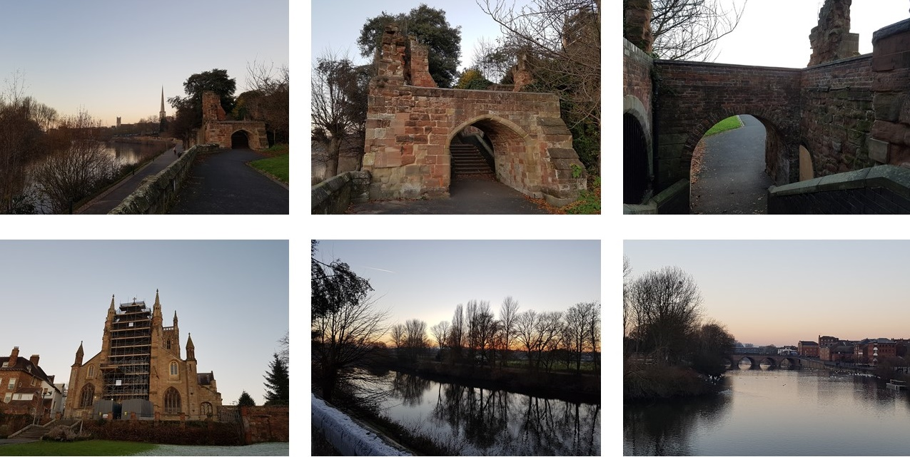 wandering the lanes of worcester, worcester cathedral and the river severn