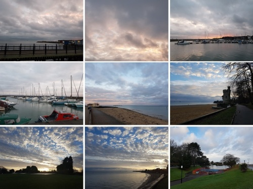 visit the isle of wight, sunrise in ryde