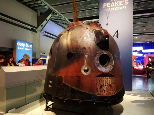 Tim Peake's Capsule at The Science Museum