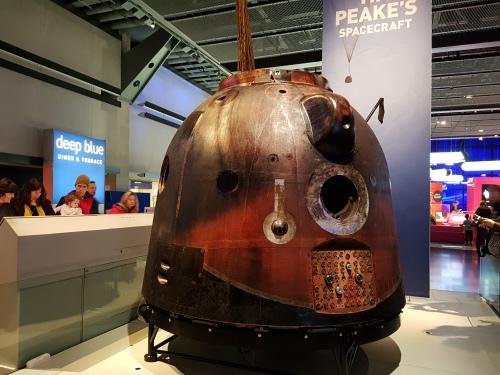 Tim Peake's Capsule at The Science Museum