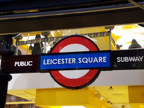 new LEGO store at Leicester Square