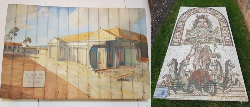 visit Brading Roman Villa on the Isle of Wight
