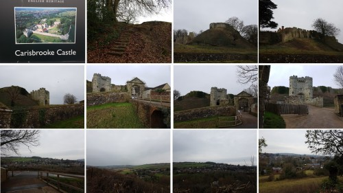 visit carisbrooke castle newport isle of wight