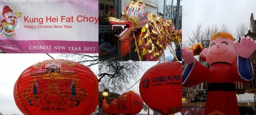 Chinese New Year 2017 - Trafalgar Square
