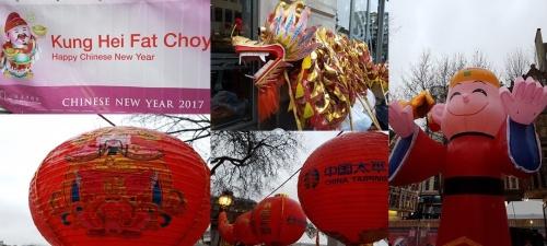 Chinese New Year 2017 - Trafalgar Square
