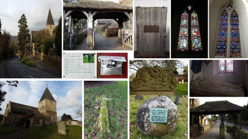 limpsfield surrey, domesday villages of england, english villages, st peters church limpsfield
