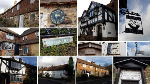 limpsfield surrey, domesday book village, limpsfield, english architecture