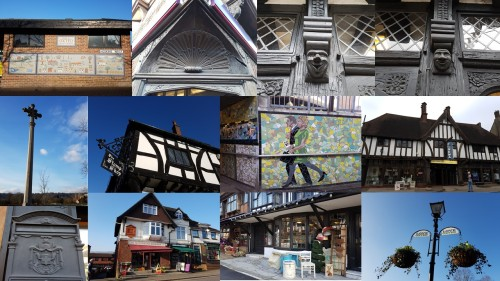 oxted surrey, domesday villages of england, oxted domesday village, english history