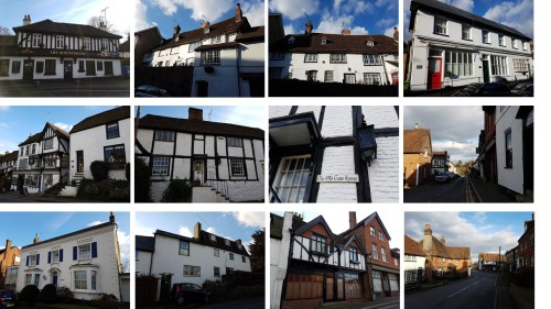 old oxted surrey, domesday villages of england, english villages