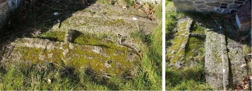 anglo-saxon graves, st mary's church oxted, domesday villages of england,