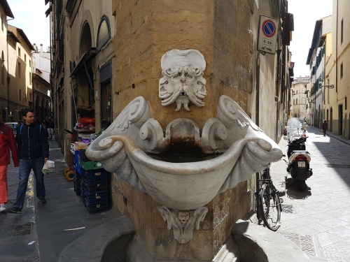 the wonderful streets of Florence