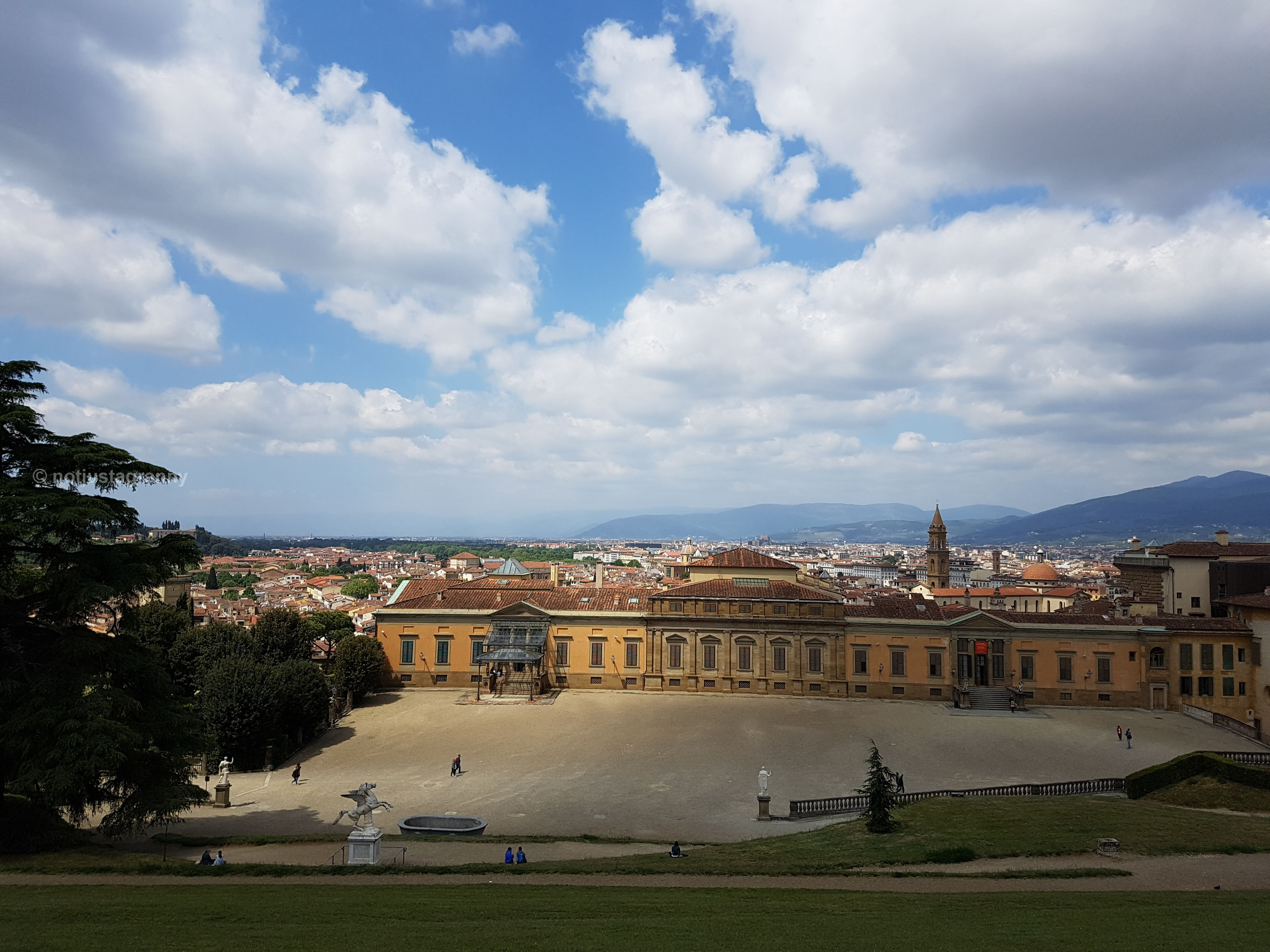Palazzo Pitti - home of the Medici family