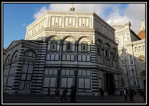 the Baptistery of Saint John, Florence, ItLY