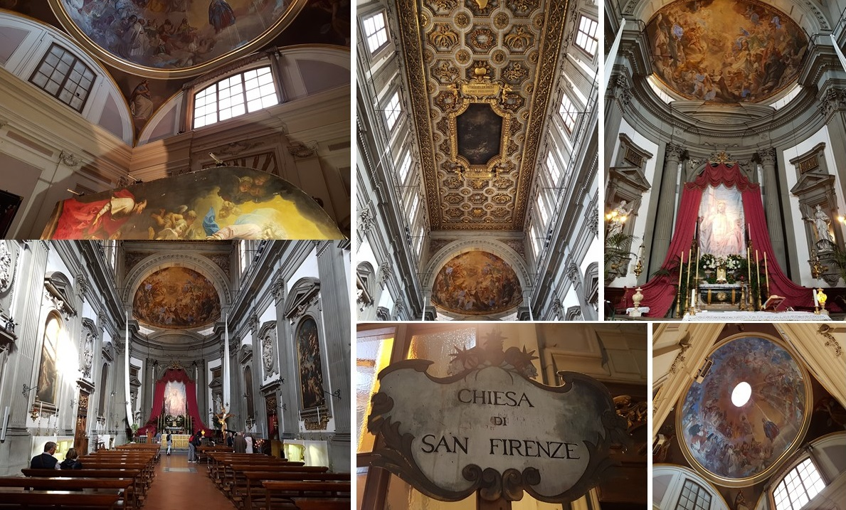 Chiesa di San Firenze/San Fillipo Neri Florence