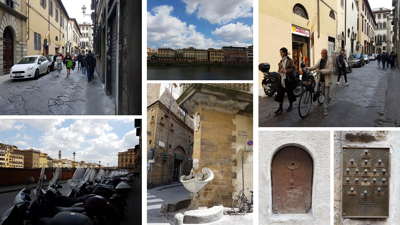 the streets of florence italy