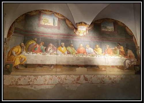 santa maria del carmine florence the last supper